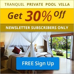 Private Pool Villa. 20% OFF