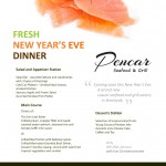 Welcoming 2014 with a New Year's Eve Celebration at Pencar Seafood & Grill