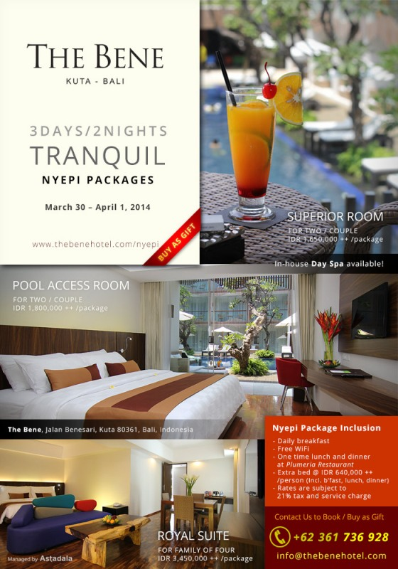 Nyepi Package 2014