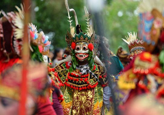 Topeng - Bali Arts Festival