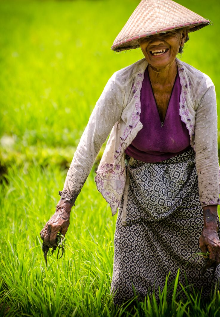 Balinese farmer. Photo: Alexander Stephan on Fivehundredpx