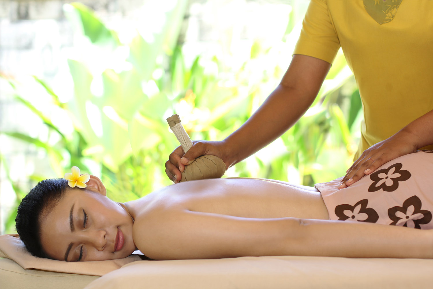 Spa and Massage in lagoon spa seminyak
