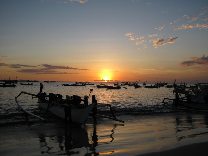 Fisherman Village Sunset Jimbaran