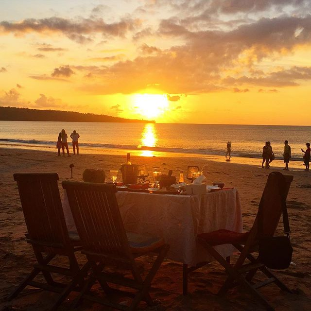 Jimbaran Beach Sunset Dinner