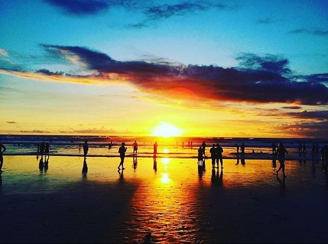 Double Six Beach Enjoy Sunset Bali