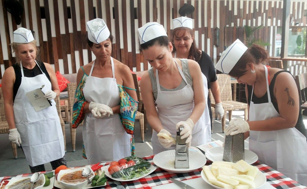 Fun time with Balinese Cooking Class
